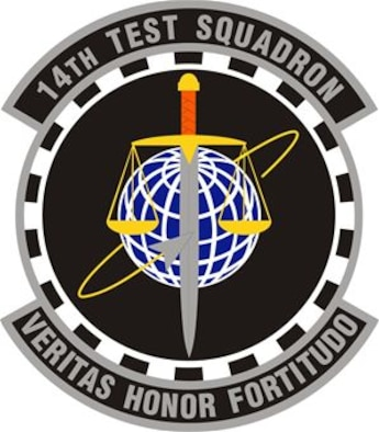 14th Test Squadron patch