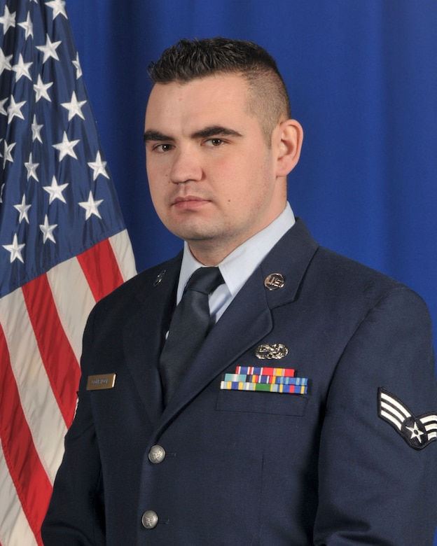 Senior Airman James Comstock was named the 2015 New York Air National Guard Airman of the Year. He is assigned to the 109th Logistics Readiness Squadron. (File photo)