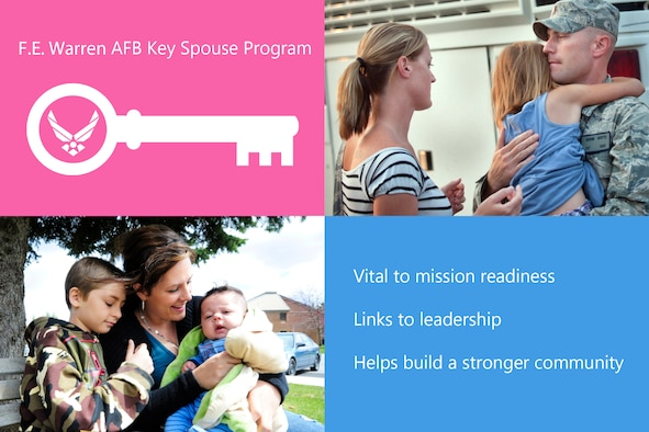 Key Spouse Graphic. (U.S. Air Force photos by Staff Sgt. Jamal D. Sutter/Released)