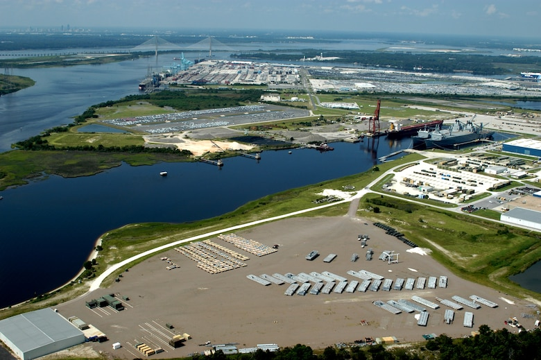 "The Port of Jacksonville was one of two ports included in President Obama's ""We Can't Wait Initiative,"" launched in 2012."