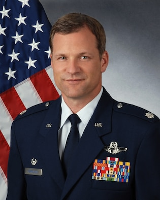 Lt. Col. Brian E. Ferguson is commander of the 94th Operations Support Squadron. The 94th OSS is based out of Dobbins Air Reserve Base, Ga. (U.S. Air Force photo/Brad Fallin)