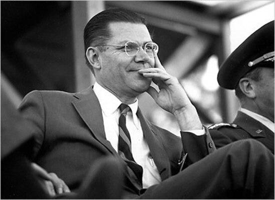 Secretary of Defense Robert McNamara, 1961. McNamara ordered the creation of DIA shortly after taking office in 1961.