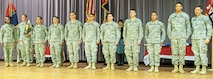 The 1st Infantry Division Noncommissioned Officer and Soldier of the Quarter Competition winners were announced to a full audience during a Jan. 8 ceremony at Fort Riley's Barlow Theater.