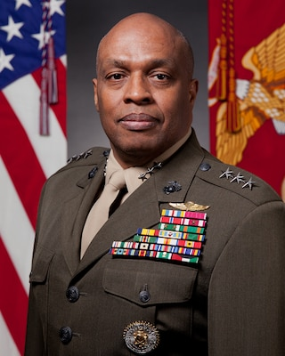 Washington, DC - Marine Corps Lt. Gen. Vincent Stewart is the first Marine Corps director to lead the agency and previously served as the head of Marine Forces Cyber.
