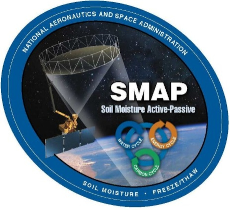 """NASA is scheduled to launch a satellite as part of its Soil Moisture Active Passive mission, or """"SMAP"""", from here, Jan. 29. With an aim to measure moisture in the top two inches of the Earth's soil, the SMAP satellite will be put into orbit on the back of a United Launch Alliance Delta II rocket. (courtesy graphic)"""