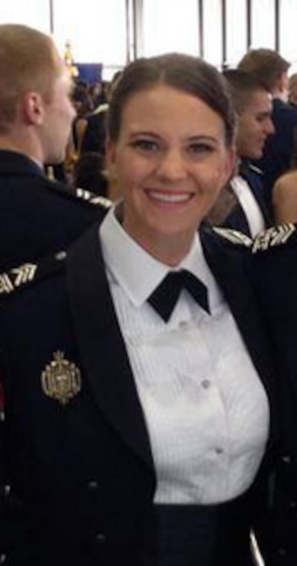 Cadet First Class Sarah Farmer was an enlisted Air Force Reservist when she decided to apply for admission to the Air Force Academy.
