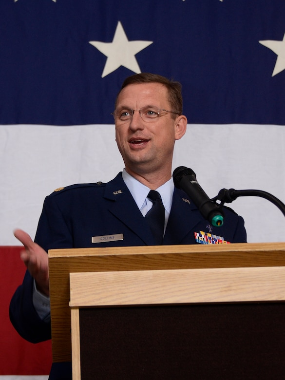 Chaplain (Maj.) Doug Collins has been in the Air Force Reserve since 2001.