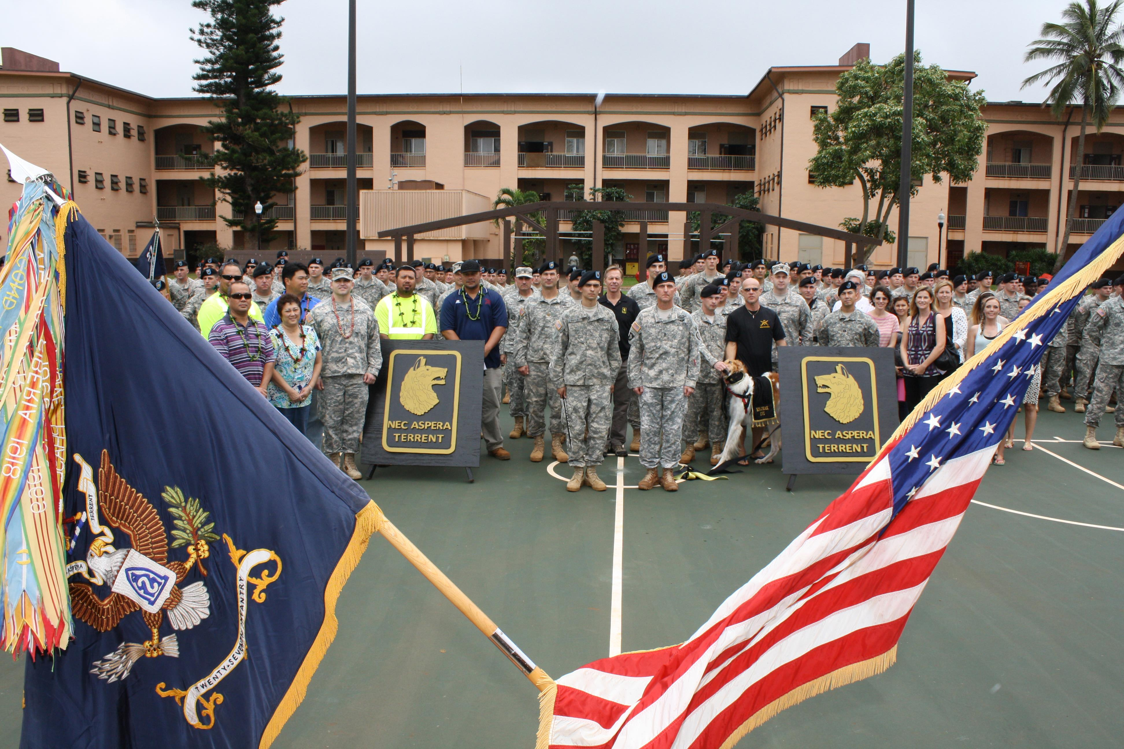 Army Corps, 2nd Battalion 27th Infantry Regiment ...