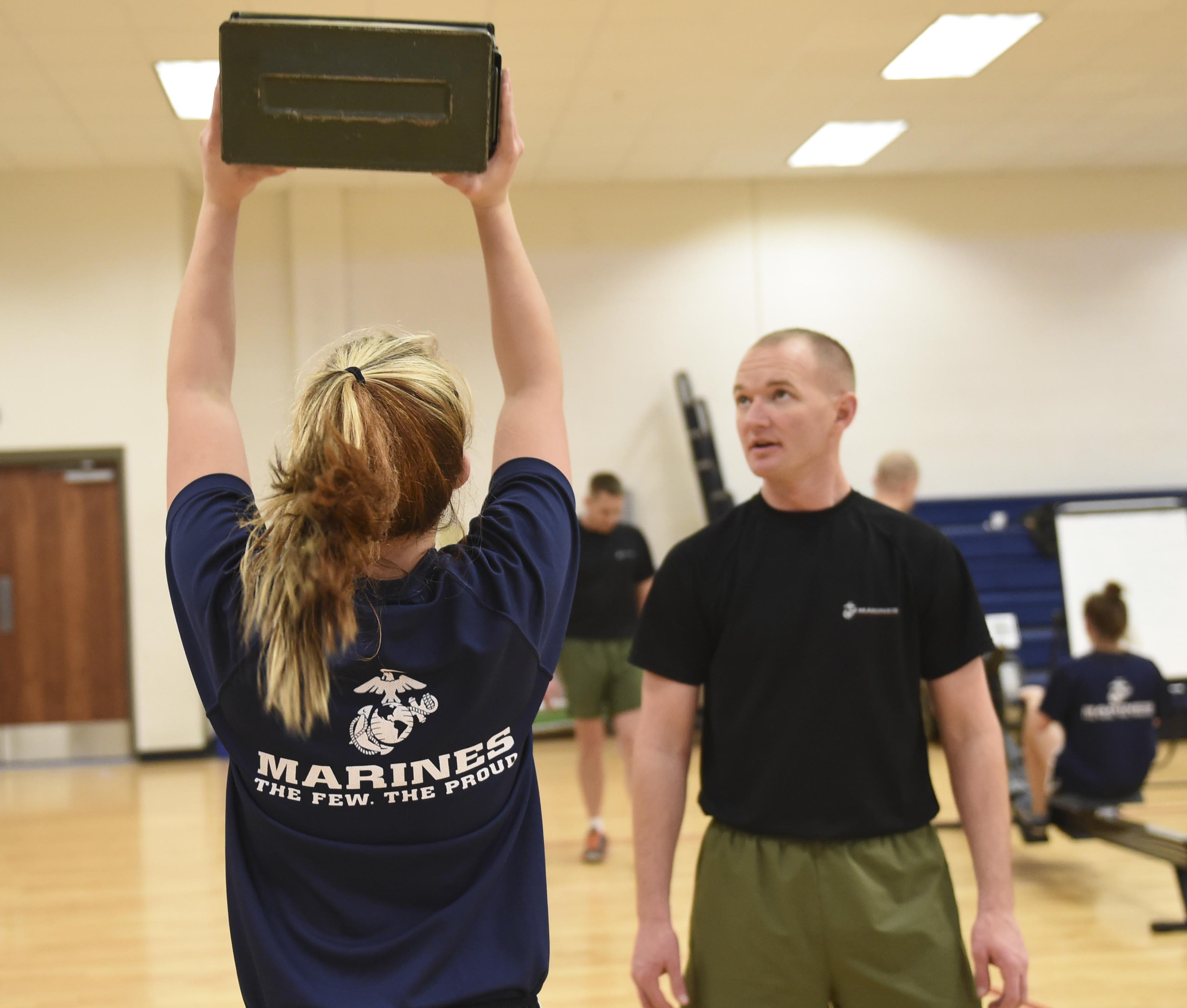 What is the Marine corps delayed entry program workout like?