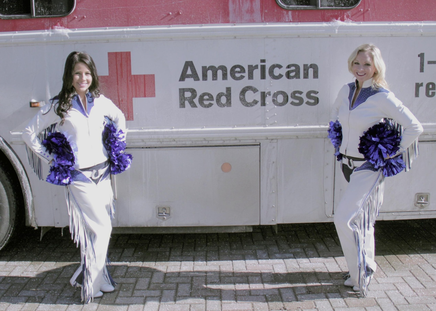 Colts Cheerleaders paid a special visit to the RS Indianapolis Blood Drive Lawrence, IN Jan. 26. The American Red Cross and RS Indianapolis blood drive, gathered enough blood to save up to 63 lives.