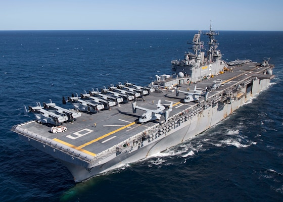 The Navy is decommissioning the USS Bonhomme Richard