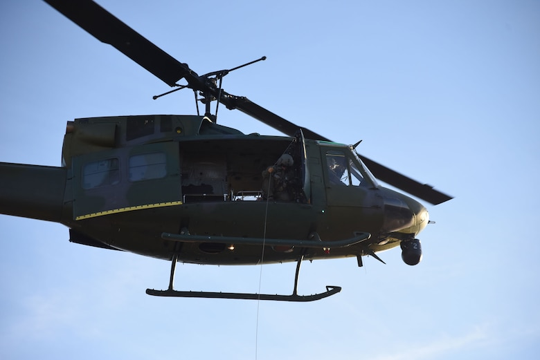 Members from the 40th Helicopter Squadron participate in a search and rescue training exercise Nov. 5, 2014. The 40th HS recorded their 408th rescue July 5, 2015. (U.S. Air Force photo/Airman 1st Class Joshua Smoot)