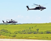 The Live-fire exercise also included AH-64 Apaches from 1st Attack Recon Battalion, 1st Aviation Regt.
