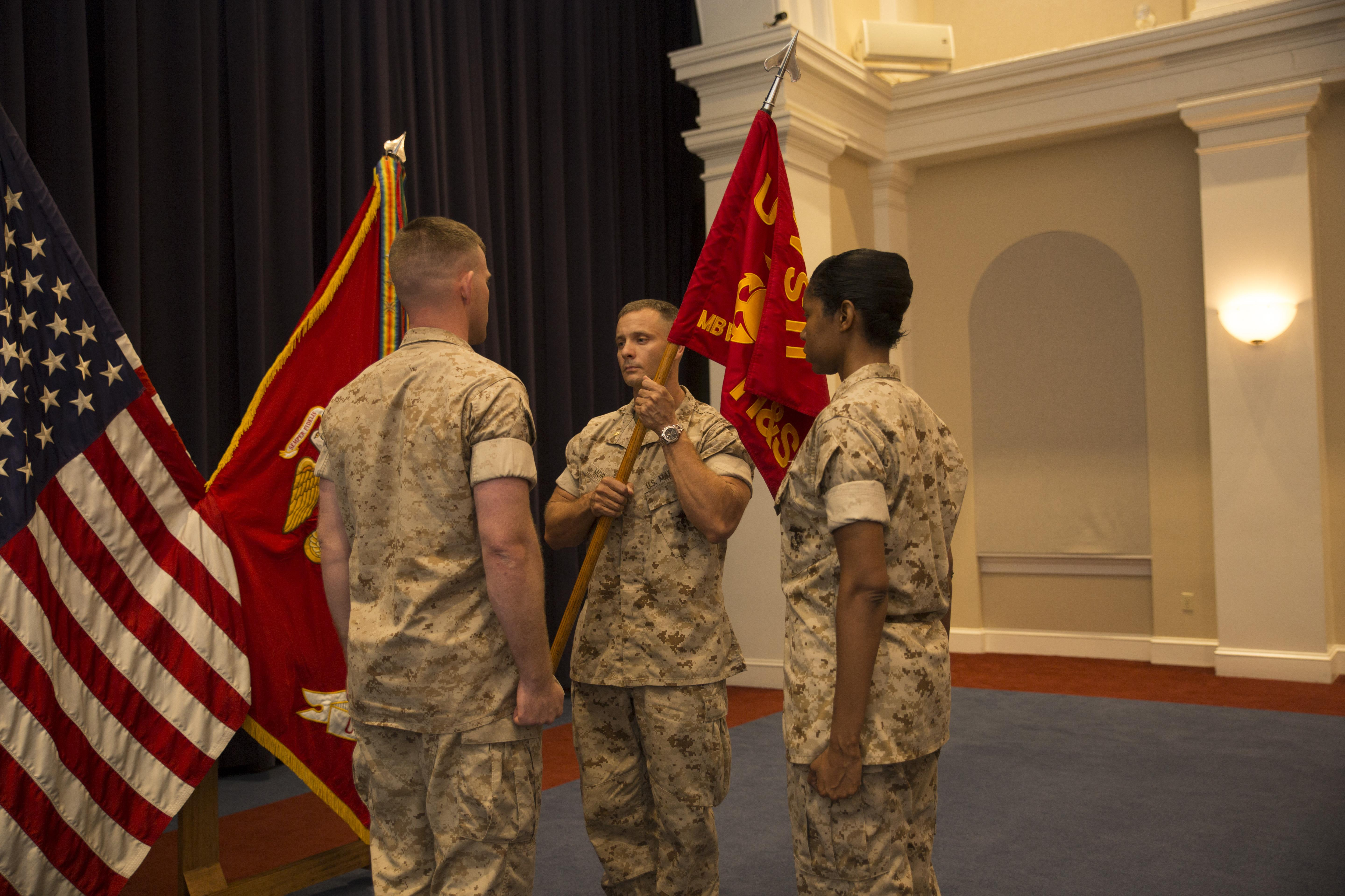 history of the guidon This time of year, hardly a day goes by when there isn't a ceremony somewhere in the world with four people in front of a formationthe guidon bearer, usually the senior enlisted member or first sergeant, stands behind three officers and at the appointed.