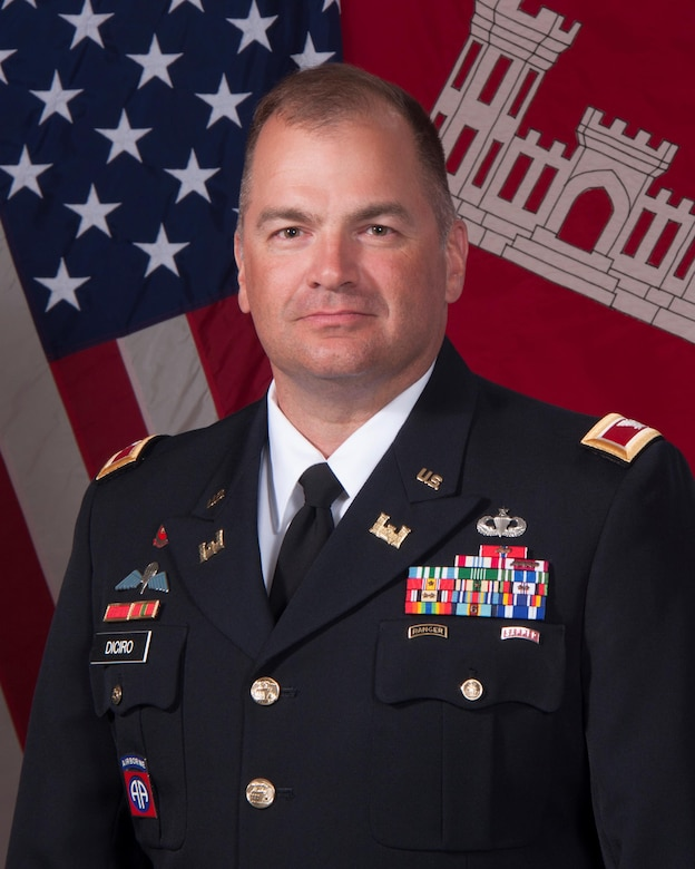 Colonel Torrey A. DiCiro assumed the duties of deputy commander, Northwestern Division, Portland, Ore., on July 16, 2015.