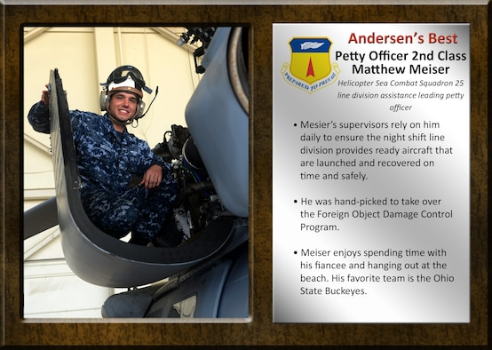 Team Andersen's Best: Petty Officer 2nd Class Matthew Meiser
