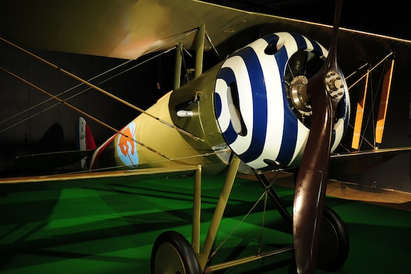 DAYTON, Ohio -- Nieuport N.28C-1 in the Early Years Gallery at the National Museum of the United States Air Force. (U.S. Air Force photo)