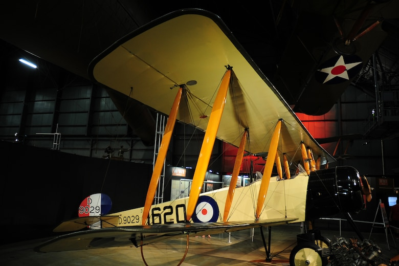DAYTON, Ohio -- Avro 504K in the Early Years Gallery at the National Museum of the United States Air Force. (U.S. Air Force photo)