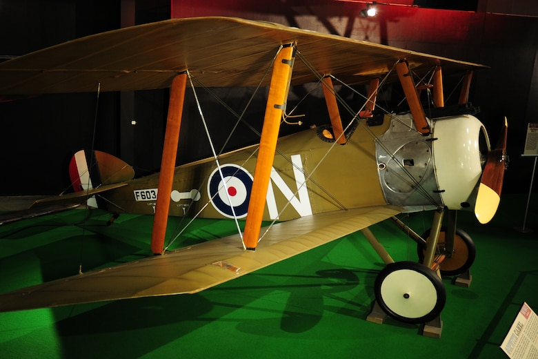 DAYTON, Ohio -- Sopwith Camel F.1 in the Early Years Gallery at the National Museum of the United States Air Force. (U.S. Air Force photo)