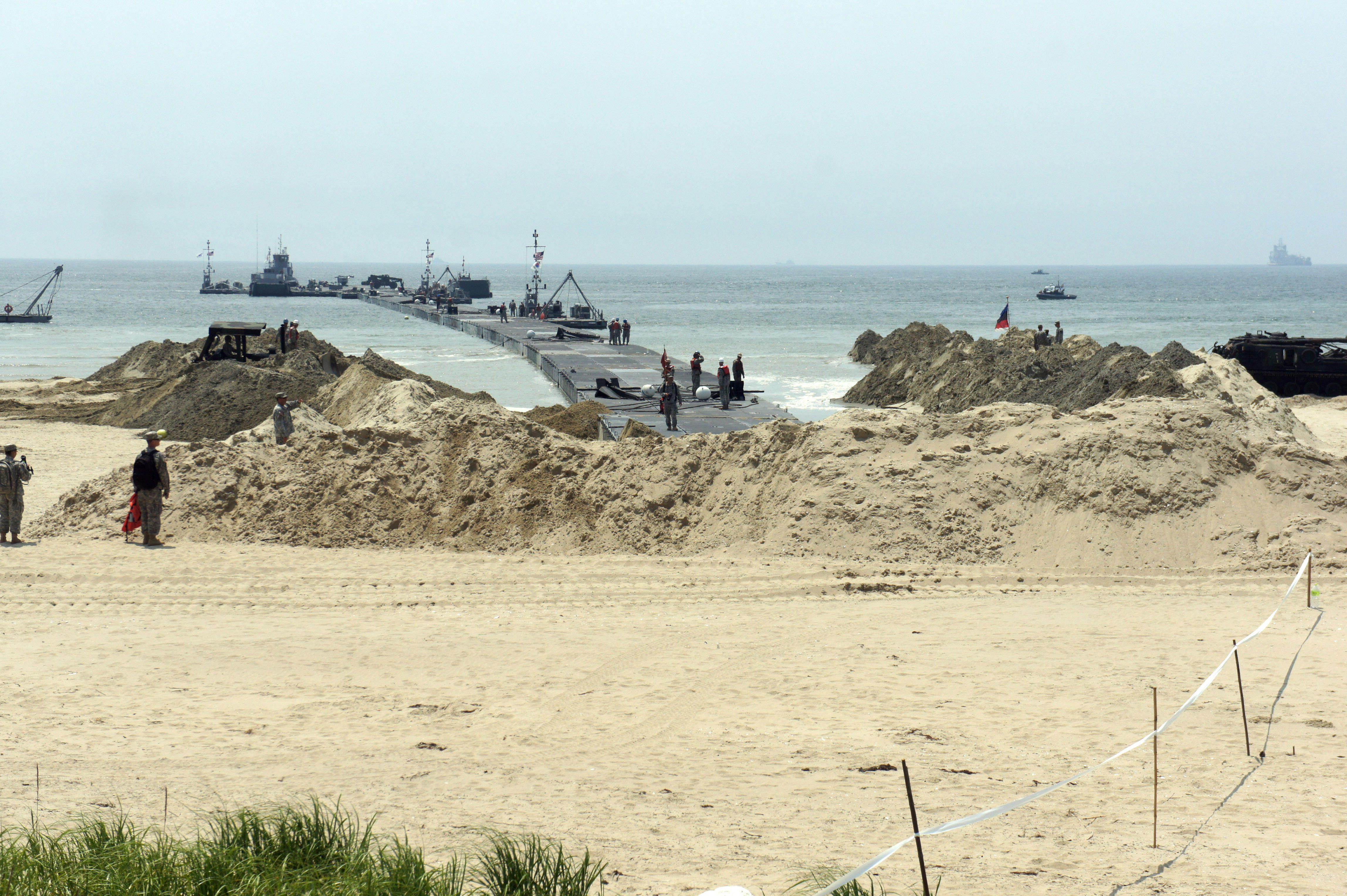 Combined Joint Logistics Over-the-Shore Exercise Begins