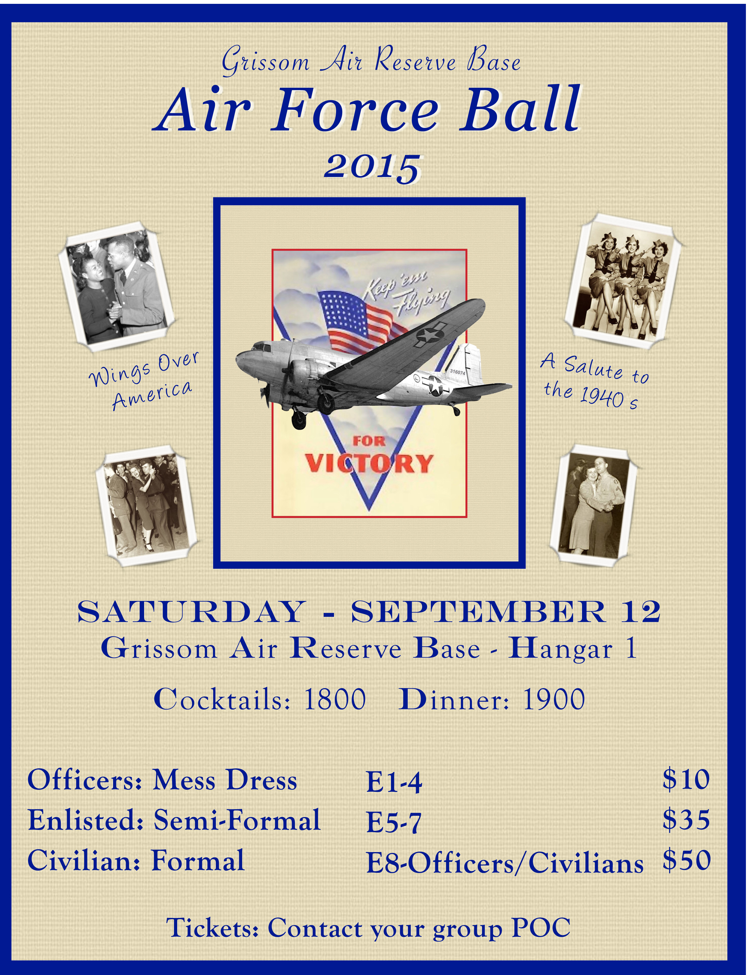 Military Ball Invitations