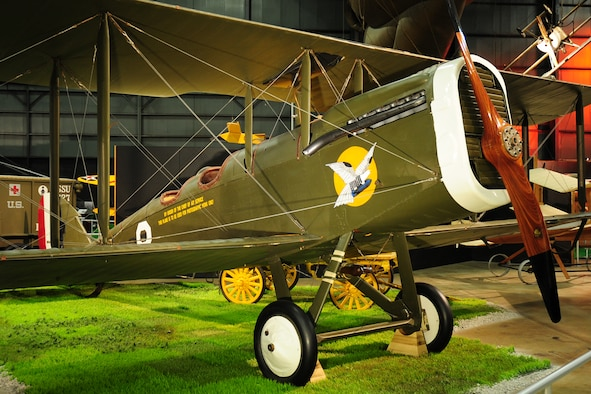 DAYTON, Ohio -- De Havilland DH-4 in the Early Years Gallery at the National Museum of the United States Air Force. (U.S. Air Force photo)