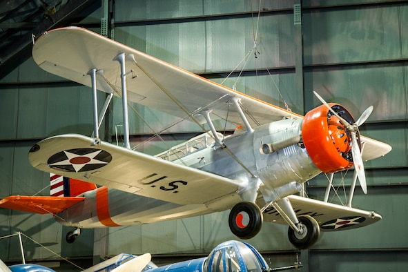 DAYTON, Ohio -- Douglas O-38F in the Early Years Gallery at the National Museum of the United States Air Force. (U.S. Air Force photo)