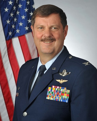 Col. Gregory Gilmour, 315th Airlift Wing commander.