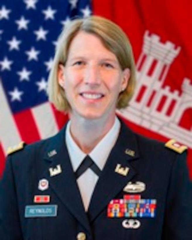 Lt. Col. Jennifer Reynolds, Deputy District Commander, South Florida