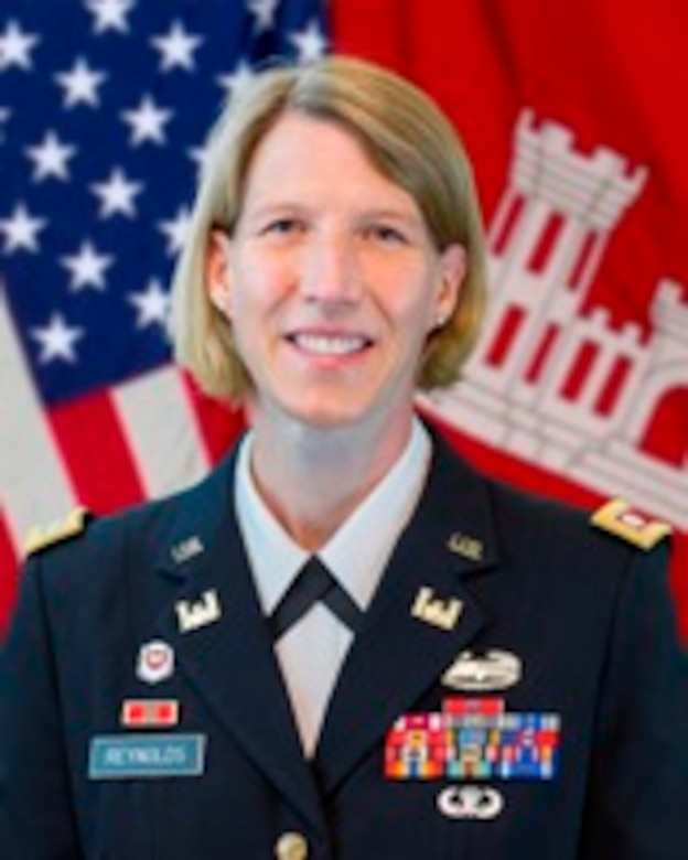 Lt. Col. Jennifer Reynolds, Deputy District Commander, South Florida