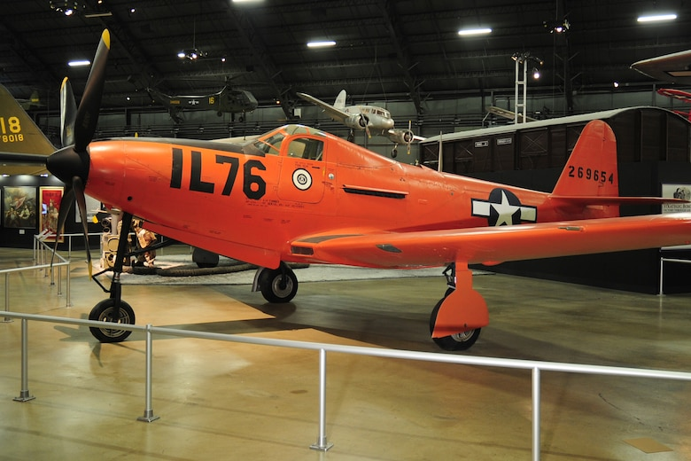 DAYTON, Ohio -- Bell P-63E Kingcobra in the World War II Gallery at the National Museum of the United States Air Force. (U.S. Air Force photo)