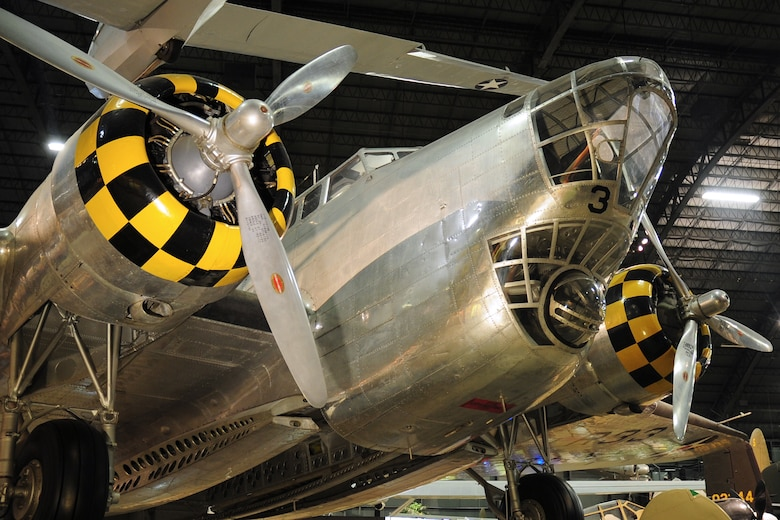 DAYTON, Ohio -- Douglas B-18 Bolo in the World War II Gallery at the National Museum of the United States Air Force. (U.S. Air Force photo)