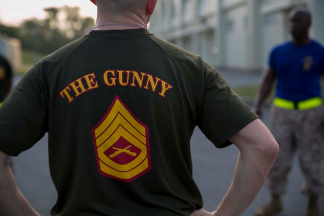 Due to sequestration and other budget cuts, numbers of staff non-commisioned officers have dropped in the Marine Corps. The number of Marines might go from 184,000 to 174,000 Marines by the end of 2017, according to Pentagon personnel statistics. The Marine Corps offers resources to keep SNCO's in the fight such as career planners, career counselors and the SNCO Academy. With the ever increasing competitiveness to achieve the next rank, it is important to document Letters of Appreciation, Certificates of Commendations and Navy Achievement Medals early in your career, according to Sgt. Maj. Jonathan Henry, the director of the Okinawa SNCO Academy. (U.S. Marine Corps photo by Cpl. Devon Tindle/Released)
