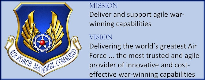 AFMC's new mission and vision statements.