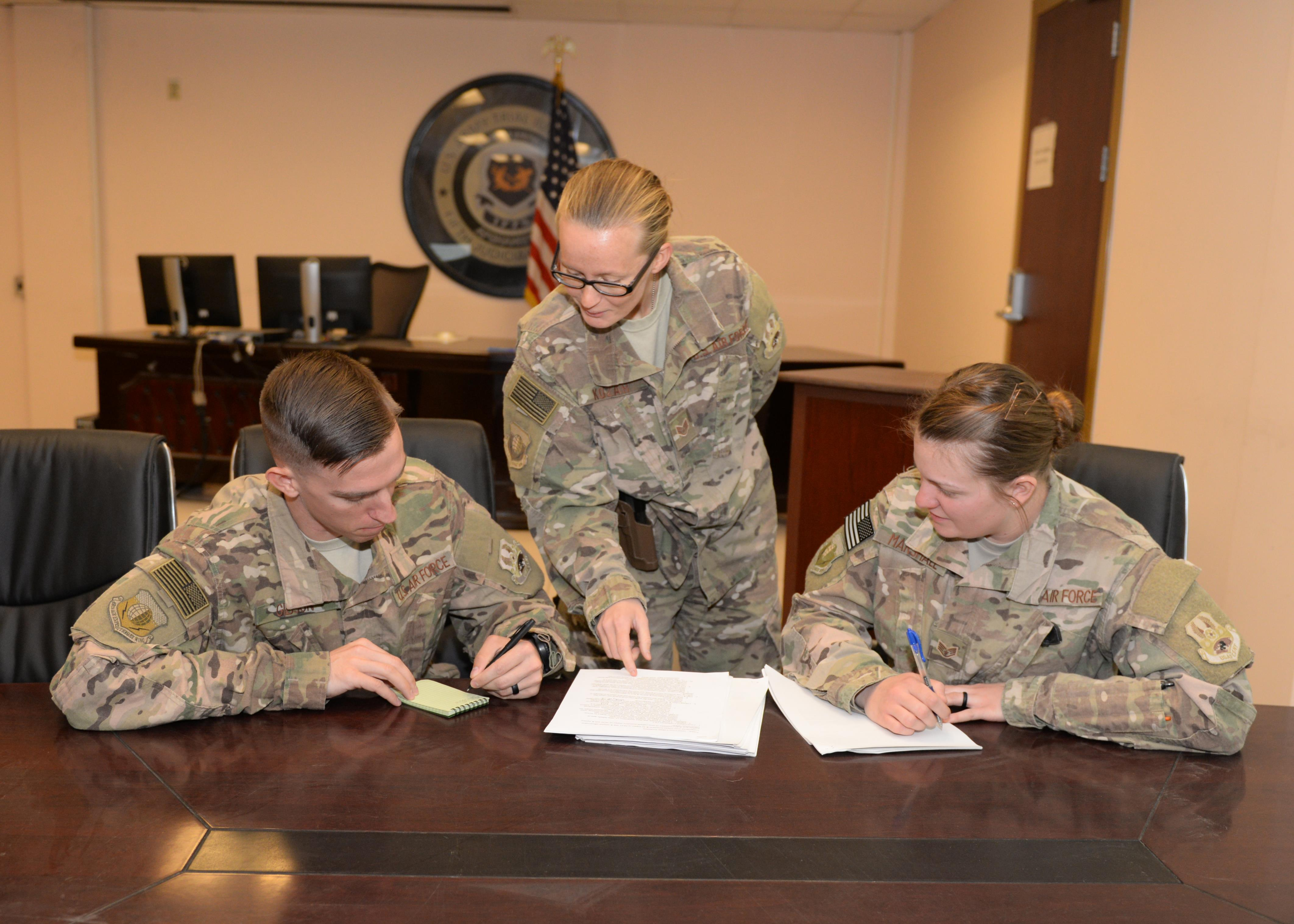 Legal Office Dedicated To Helping Deployed Airmen US Air Forces - Help with legal paperwork