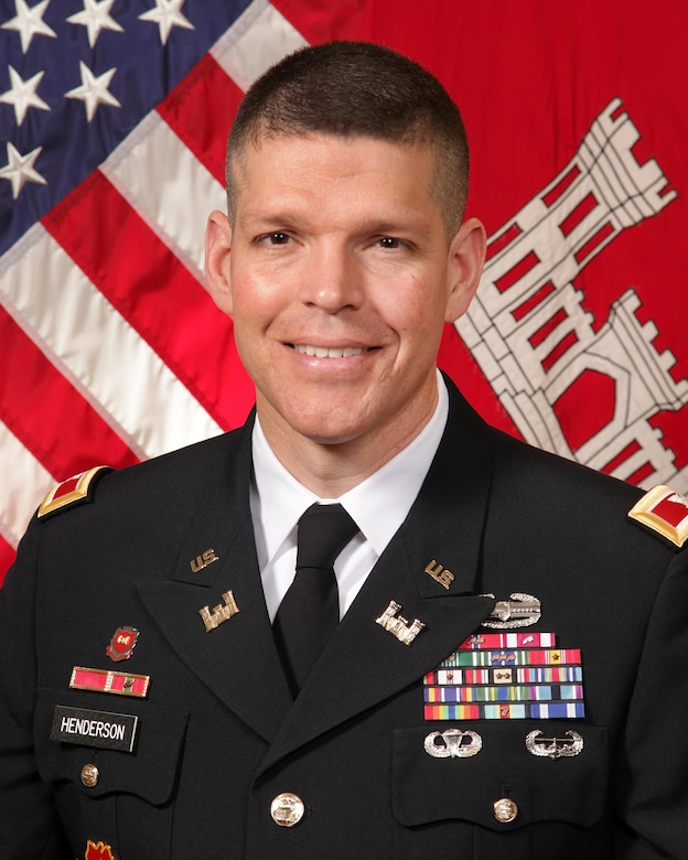 Colonel John W. Henderson became commander of the Omaha District July 31, 2015.