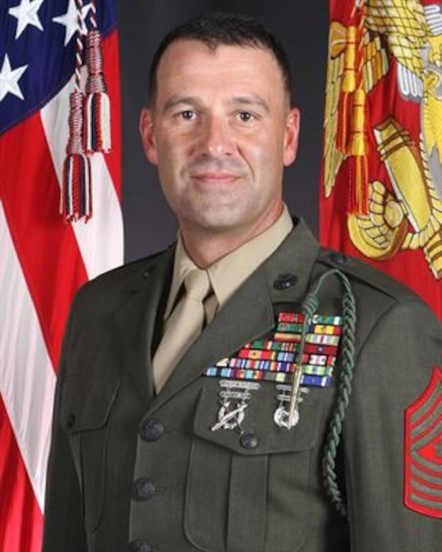 Sergeant Major Michael P. Woods