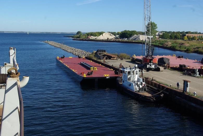 The U.S. Army Corps of Engineers' Marine Design Center managed design and construction of the USACE, PEORIA SPUD BARGES 937 & 938, which were delivered in October of 2013. The barges' mission is to support the civil works maintenance and repair mission of the USACE Rock Island District.