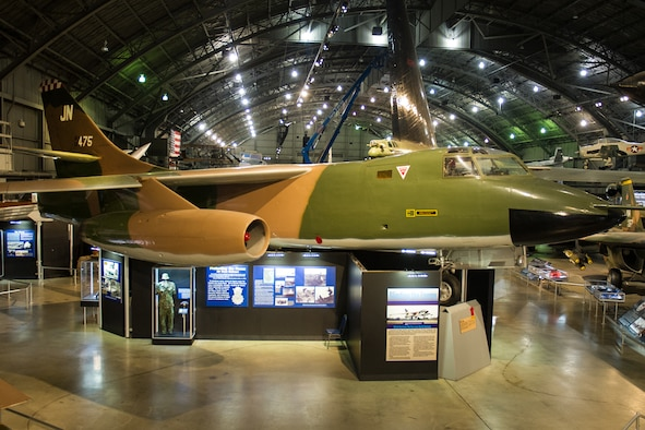 DAYTON, Ohio -- Douglas RB-66B Destroyer in the Southeast Asia War Gallery at the National Museum of the United States Air Force. (U.S. Air Force photo)