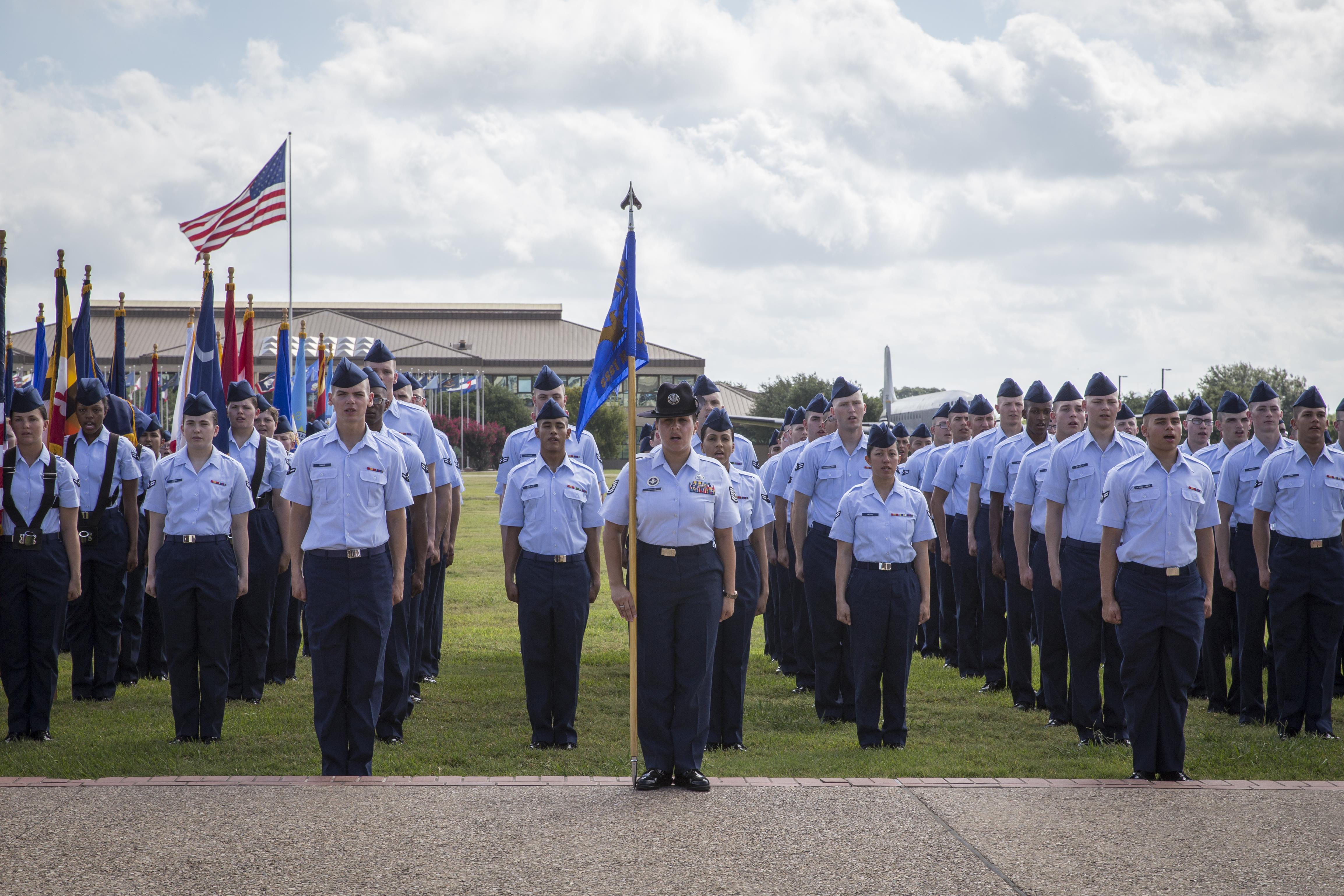 Air Force BMT implements gender-integrated Heritage Flights