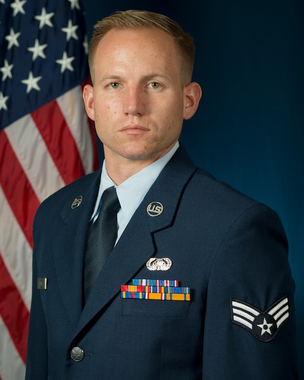 Senior Airman Jonathan R. Smail, 2015 Air National Guard Outstanding Airman of the Year. (Air National Guard photo by Master Sgt. Marvin R. Preston/Released)