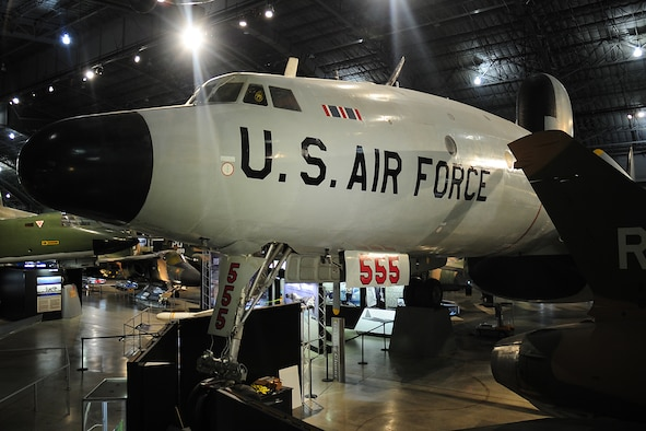DAYTON, Ohio -- Lockheed EC-121D Constellation in the Southeast Asia War Gallery at the National Museum of the United States Air Force. (U.S. Air Force photo)