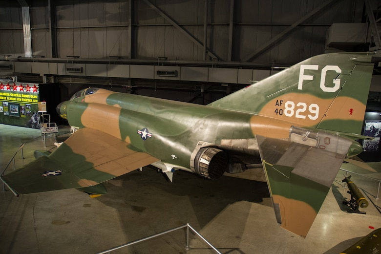 DAYTON, Ohio -- McDonnell Douglas F-4C Phantom II in the Southeast Asia War Gallery at the National Museum of the United States Air Force. (U.S. Air Force photo)