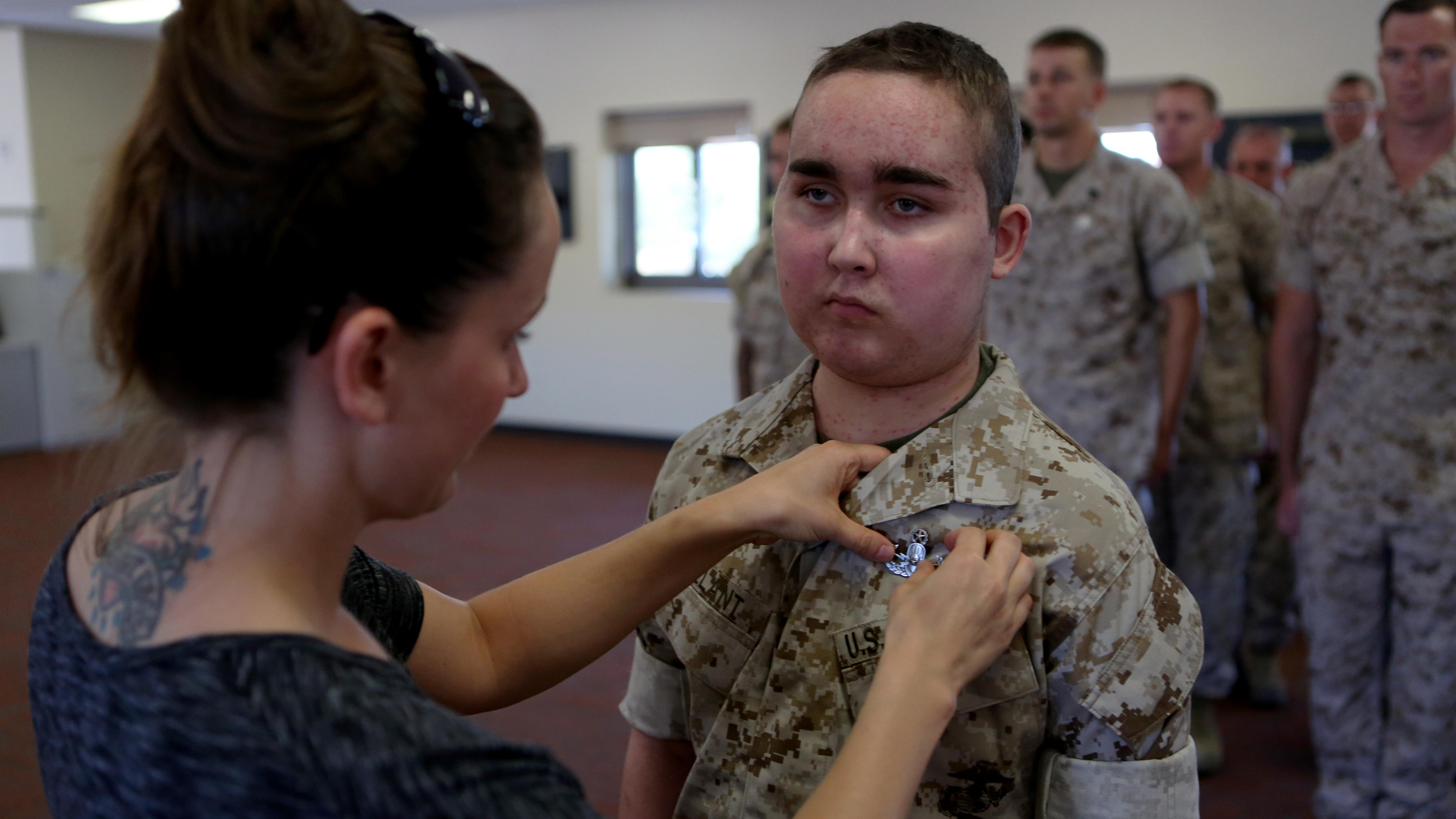Granting wish, EOD style > The Official United States Marine Corps ...