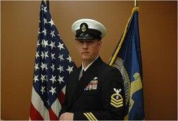 Garrett D. Ray, chief petty officer, NOSC Detroit/ PHIBCB 2, Selfridge ANGB