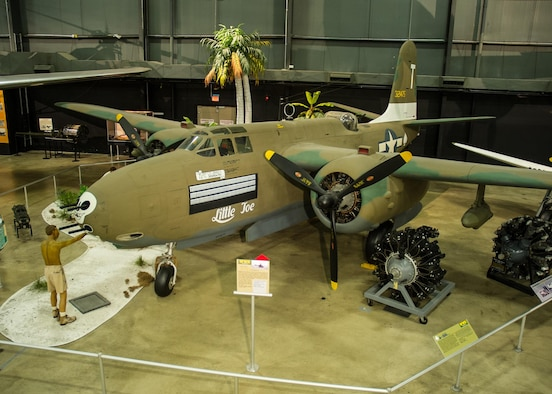 DAYTON, Ohio -- Douglas A-20G in the World War II Gallery at the National Museum of the United States Air Force. (U.S. Air Force photo)