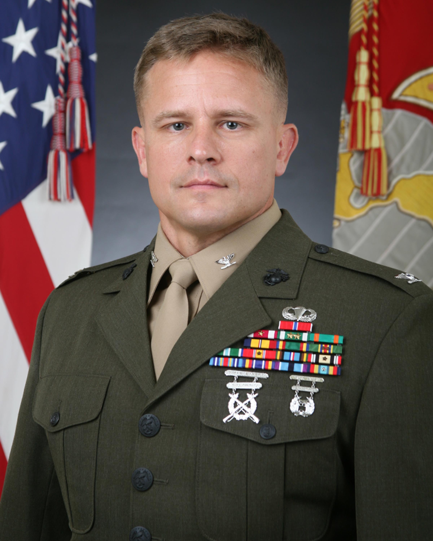 Colonel Brian G. Hughes > Marine Corps Blount Island ...
