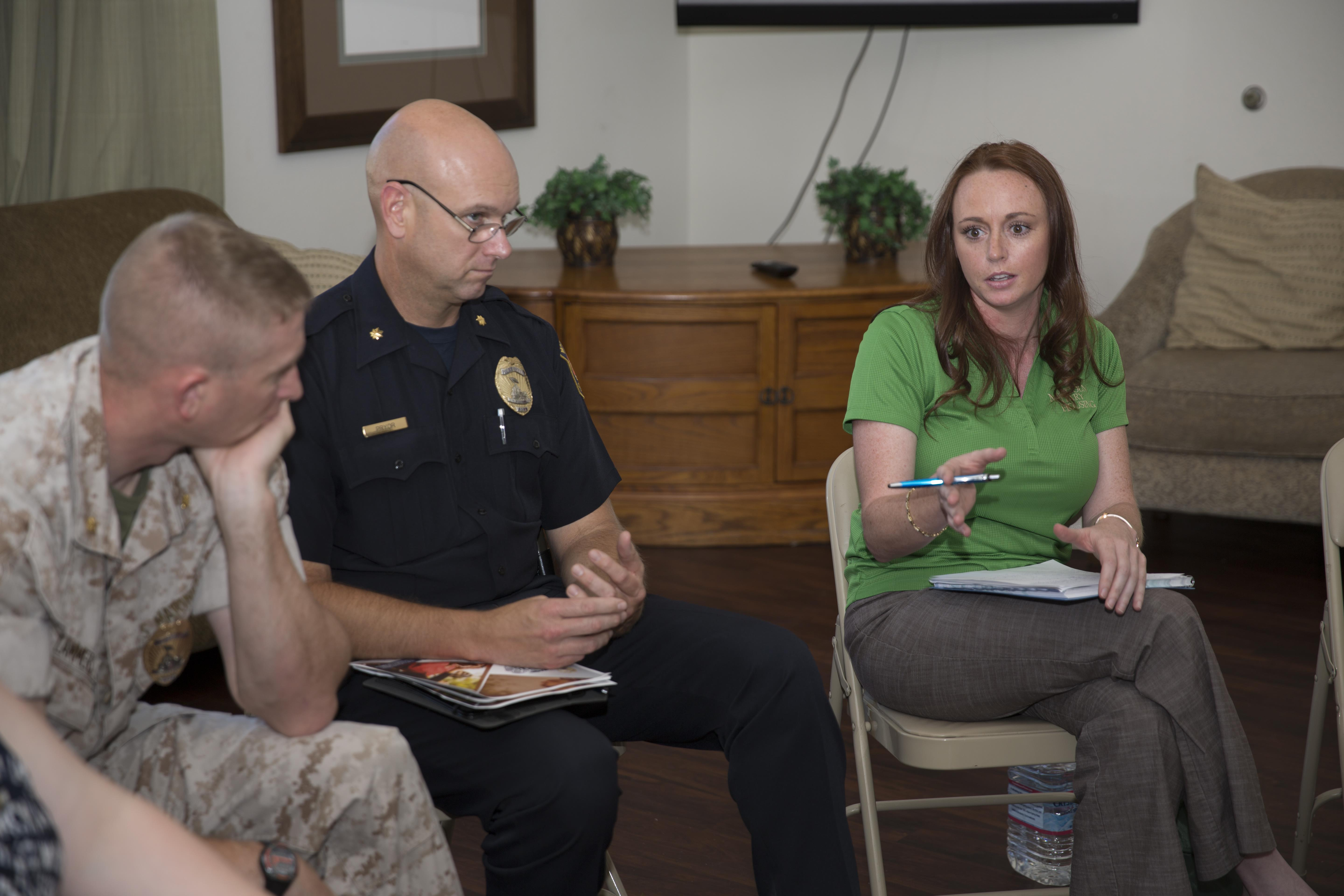 Rab Meeting Tackles Housing Issues Gt Marine Corps Air