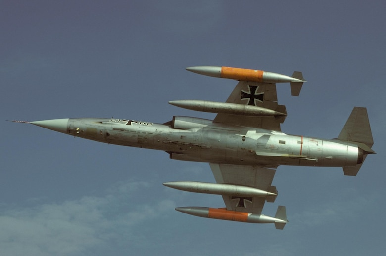A Lockheed F-104 Starfighter aircraft (Courtesy photo)