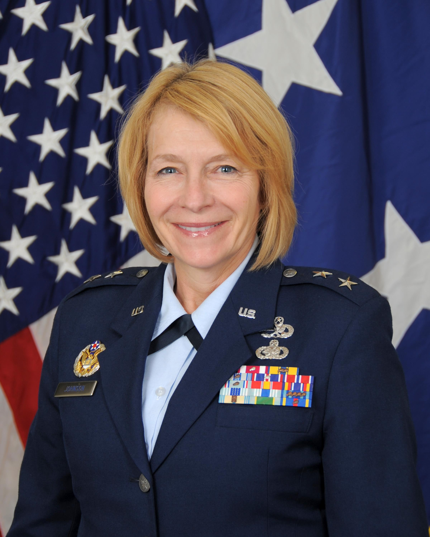 Kathryn Johnson air force